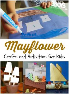 Mayflower Crafts and Activities
