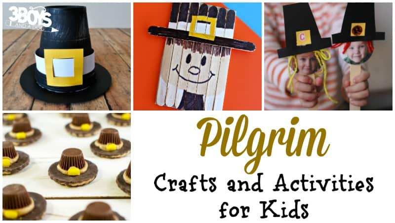 Pilgrim Activities for Kids