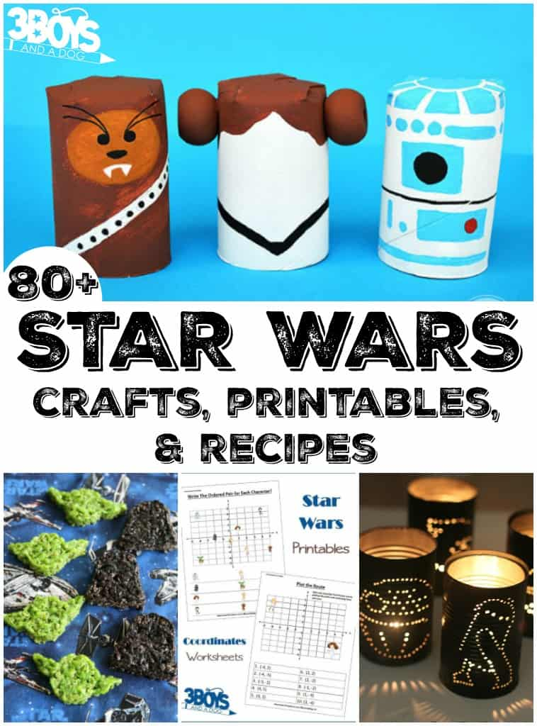 Star Wars Crafts, Printables, and Recipes