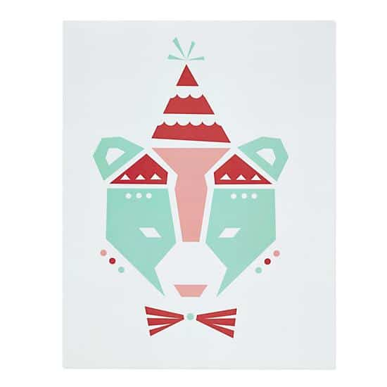 Best It features three colorful ice cream cones on a white background This is a Land of Nod exclusive item designed by Lyndy Hants from Little Design Haus