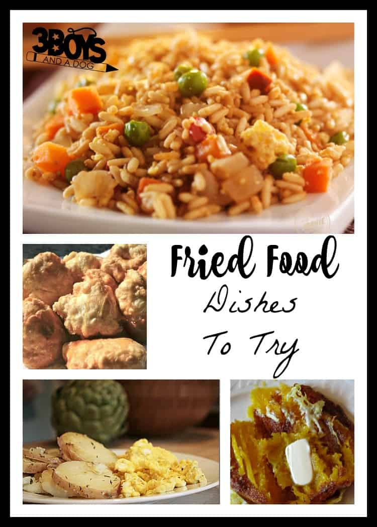 fried food dishes