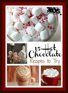 15 Hot Chocolate Recipes