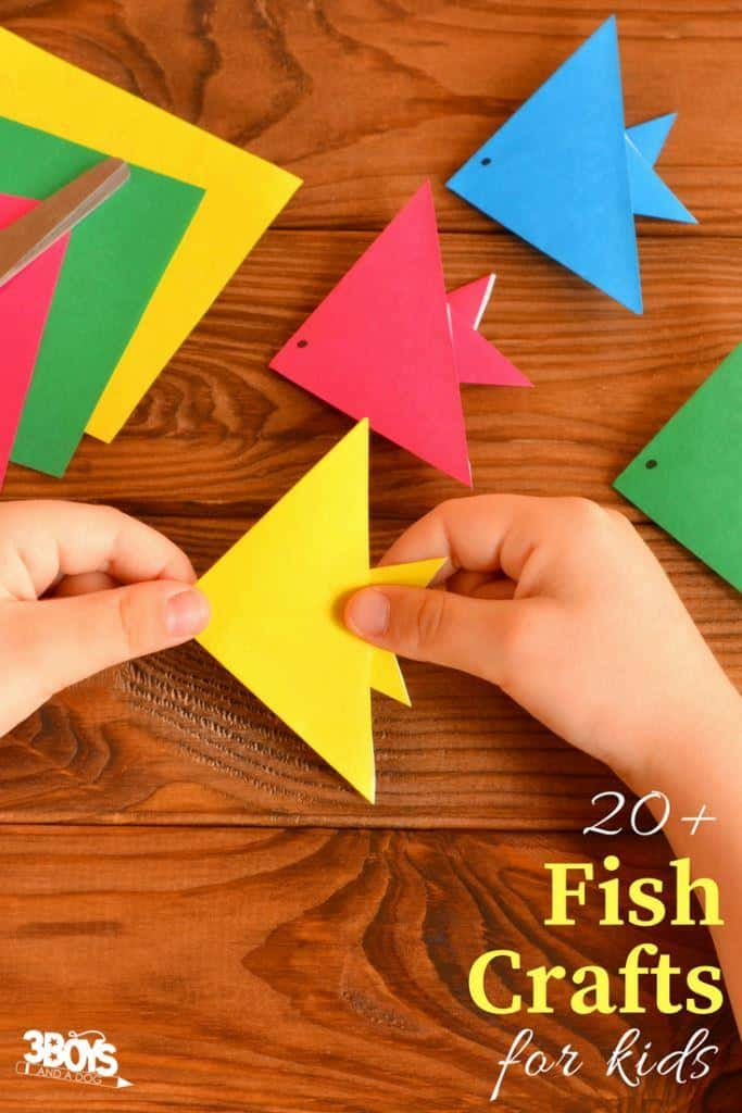over 27 hands on fish crafts for kids (1)