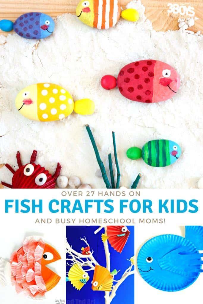 swimming fishies crafts
