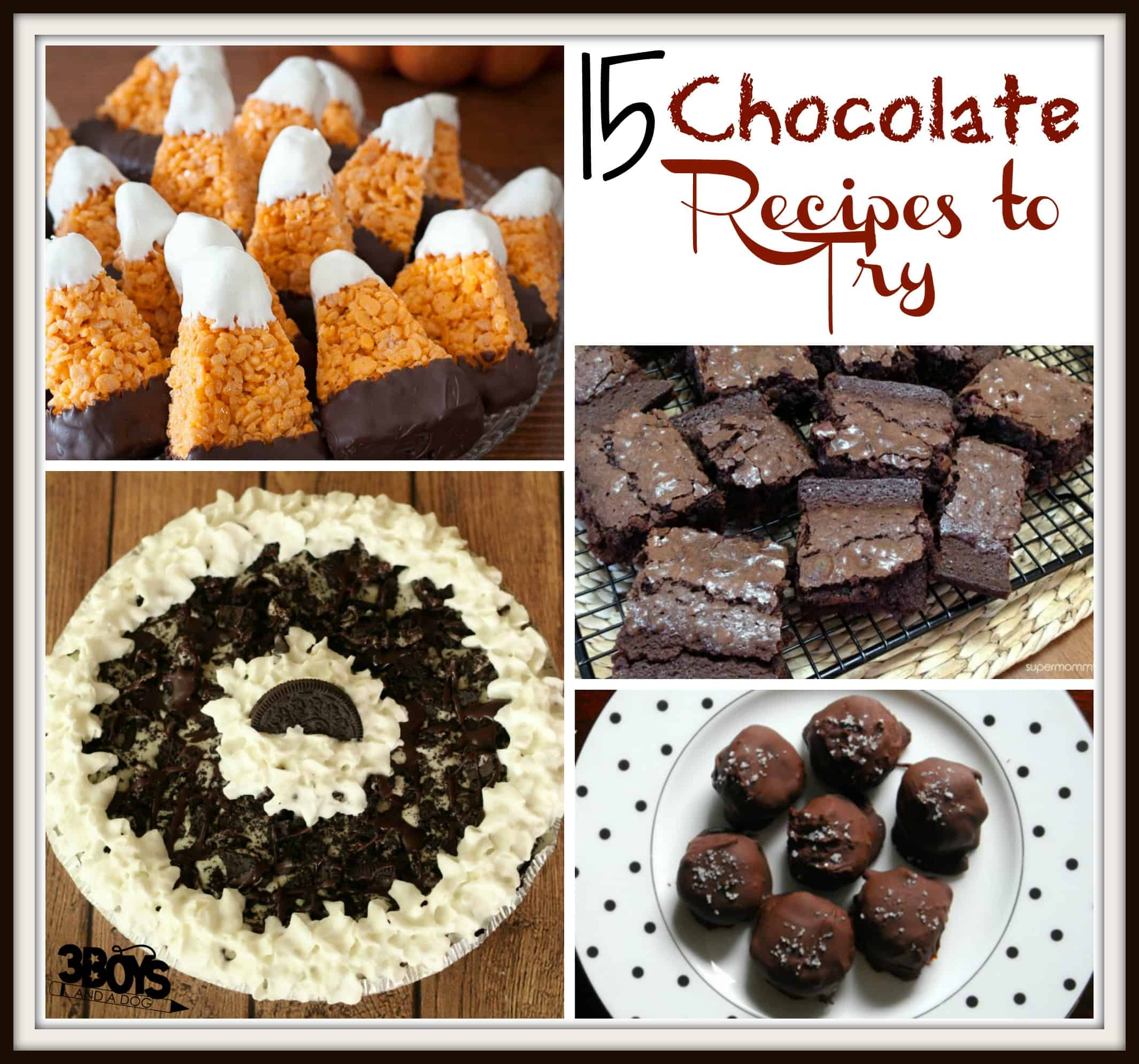 Over 15 Chocolate Recipes To Try