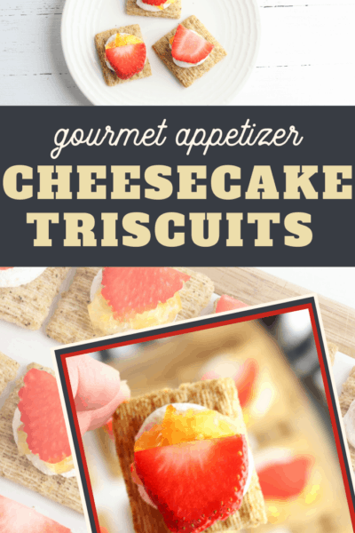 triscuit cracked pepper cheesecake topper recipe