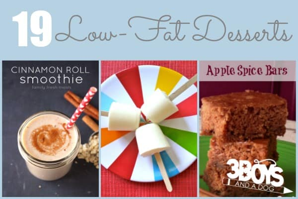 19 Low Fat Dessert Recipes