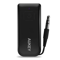 Aukey Wireless Bluetooth Audio Transmitter Portable Bluetooth Stereo Music Adapter 70% off