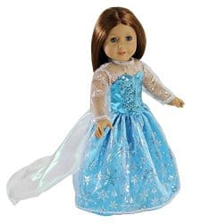 Elsa Inspired Dress for American Girl Doll 48% Off