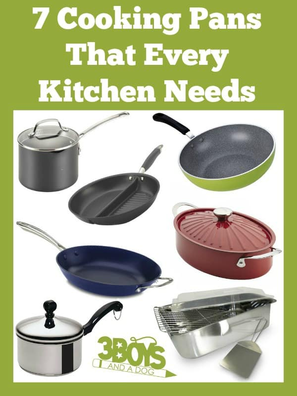 7 Cooking Pans That Every Kitchen Needs