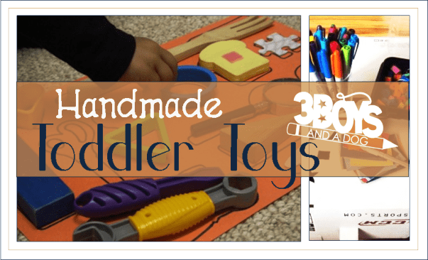 Awesome Handmade Toddler Toys