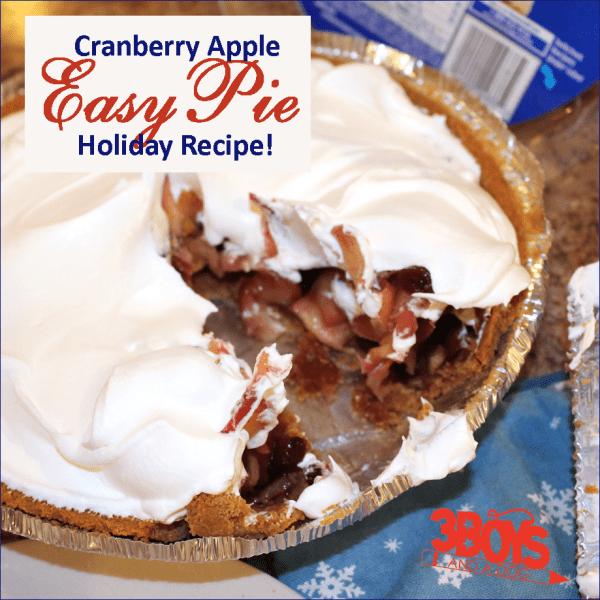 Cranberry Apple Pie Holiday Entertaining Recipe