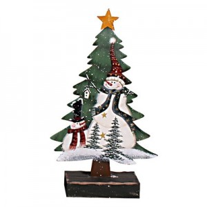 Holiday-Snowman-on-a-Christmas-Tree-with-Base-HM1027-HM1028