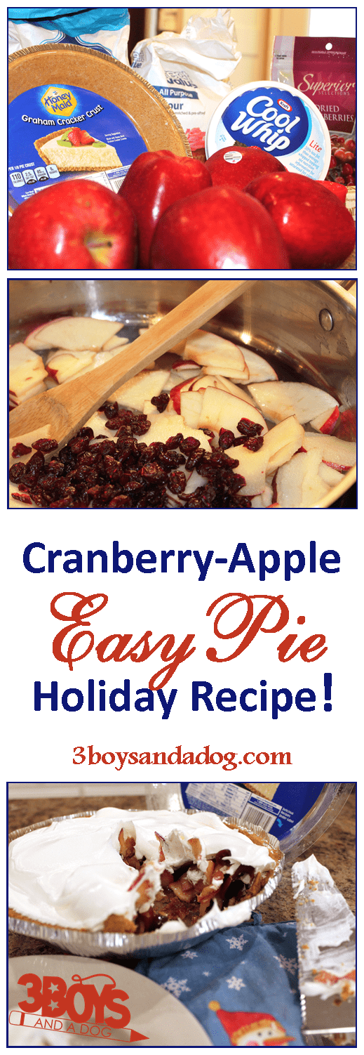 Make an easy cranberry apple pie this holiday season to impress your guests and make your house smell amazing