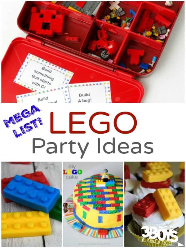 Mega List of LEGO Party Ideas