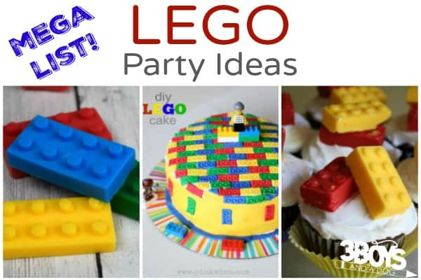Mega List of LEGO Party Resources