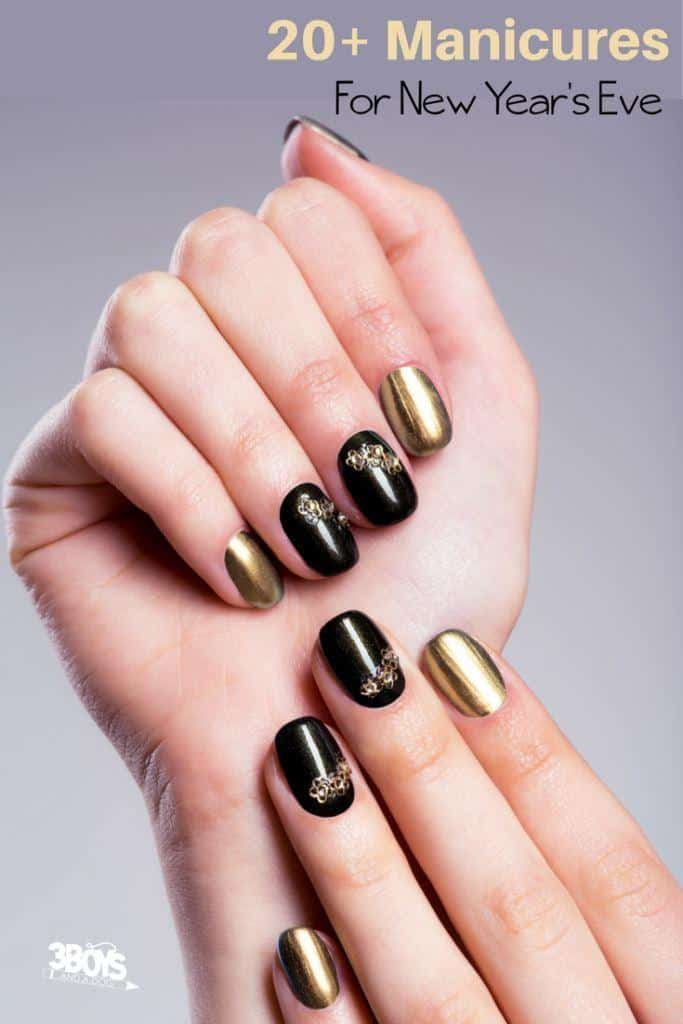 nail art ideas for the new year