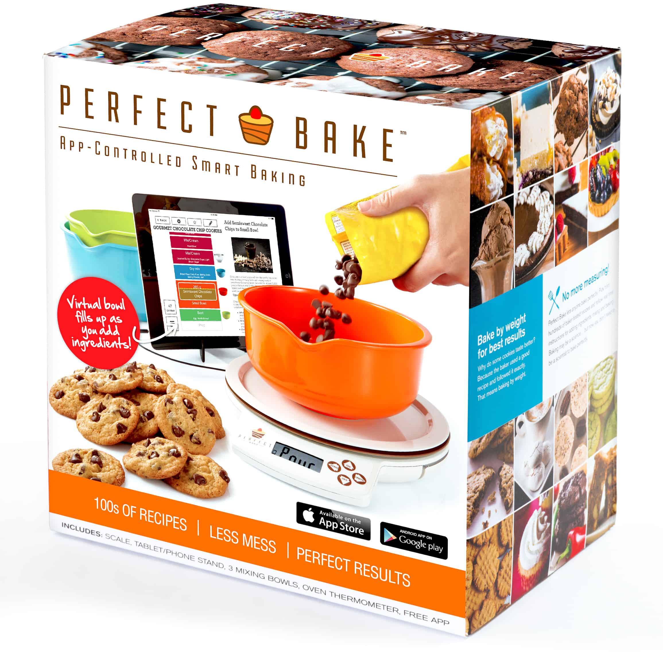 My holiday gift pick 3 perfect bake 3 boys and a dog for Perfect bake smart scale