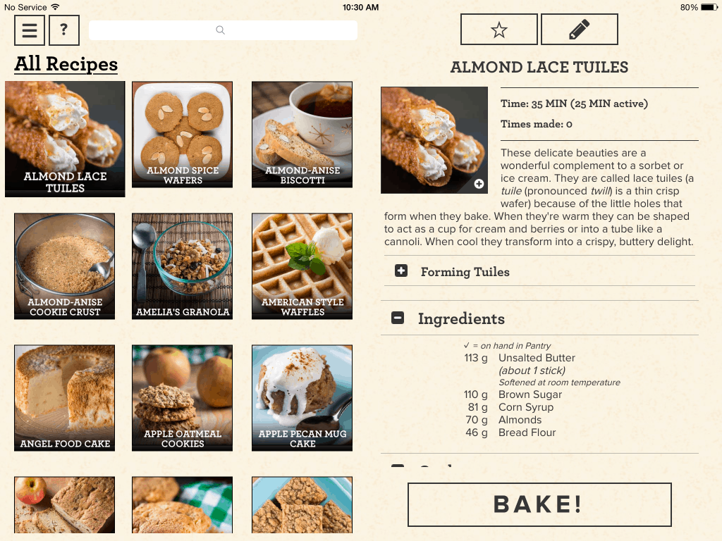 Perfect Bake_Recipes_PerfectCompany