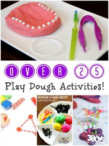 Play Dough Activities for Kids