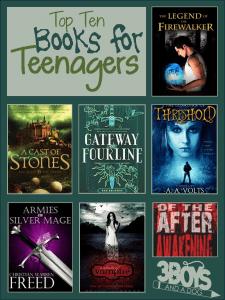 Top Ten Books for Teens