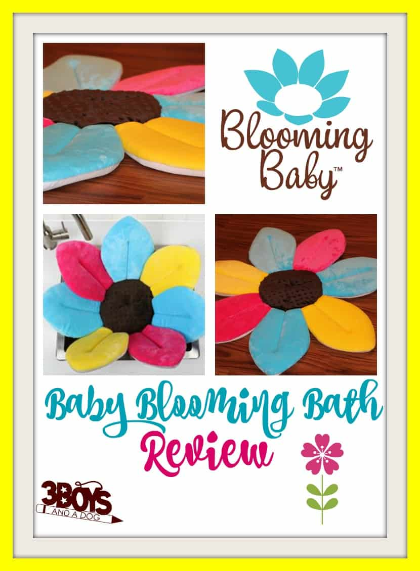 baby blooming bath