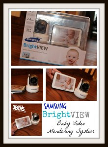 Review: Samsung SEW-3043W BrightVIEW Baby Video Monitoring System