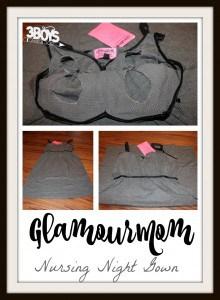 Review: Glamourmom Nursing Night Gown