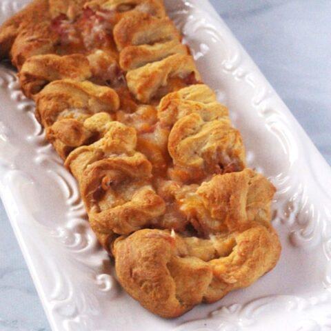 Ham and Cheese Breakfast braid