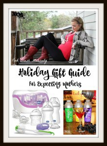 Holiday Gift Guide for Expecting Mothers