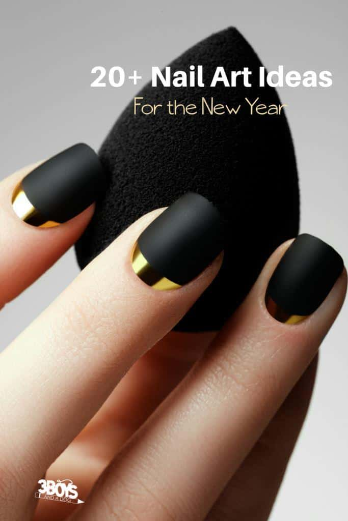 Over 20 Nail Ideas, Designs, and Colors for New Year\'s – 3 Boys and ...