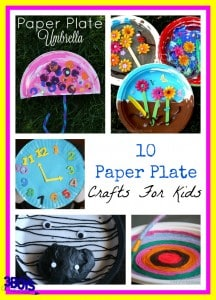 10 Paper Plate Crafts for Kids