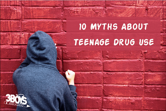 10 Myths about teenage drug use