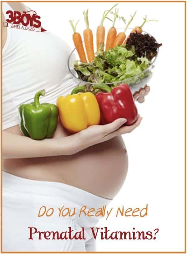 Are prenatal vitamins really necessary