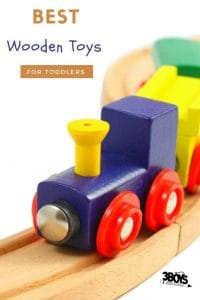 The best wooden toys for toddlers will last several lifetimes!