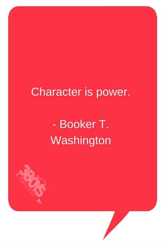 Booker T Washington Quote