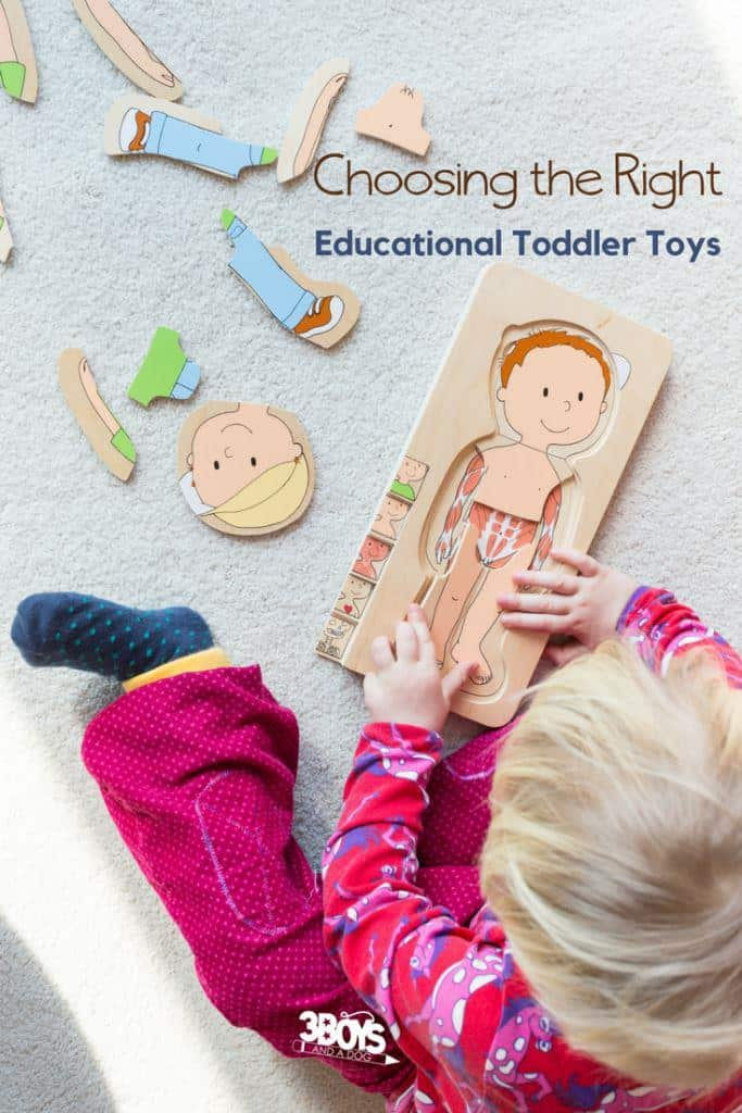 How to choose the right toddler toys and my picks for toys with an educational component