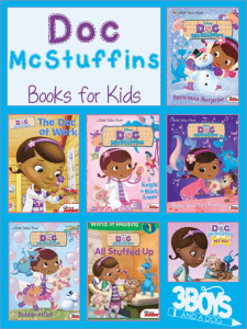 Turn off the television and curl up with one of these Doc McStuffins Books for Kids to help your child learn to read and to improve their reading skills.