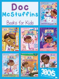 Doc McStuffins Books for Kids