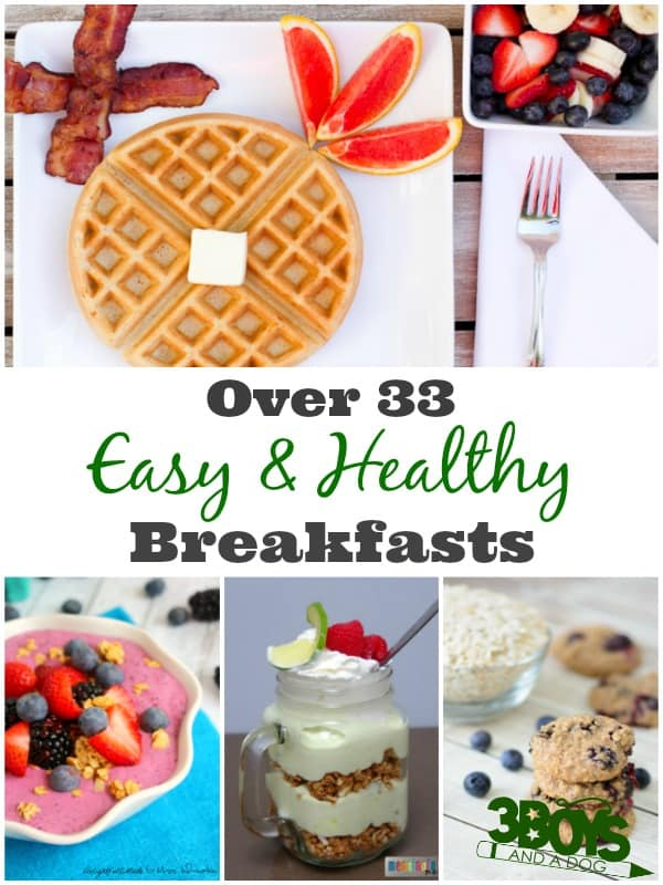 Easy Healthy Breakfast Recipes