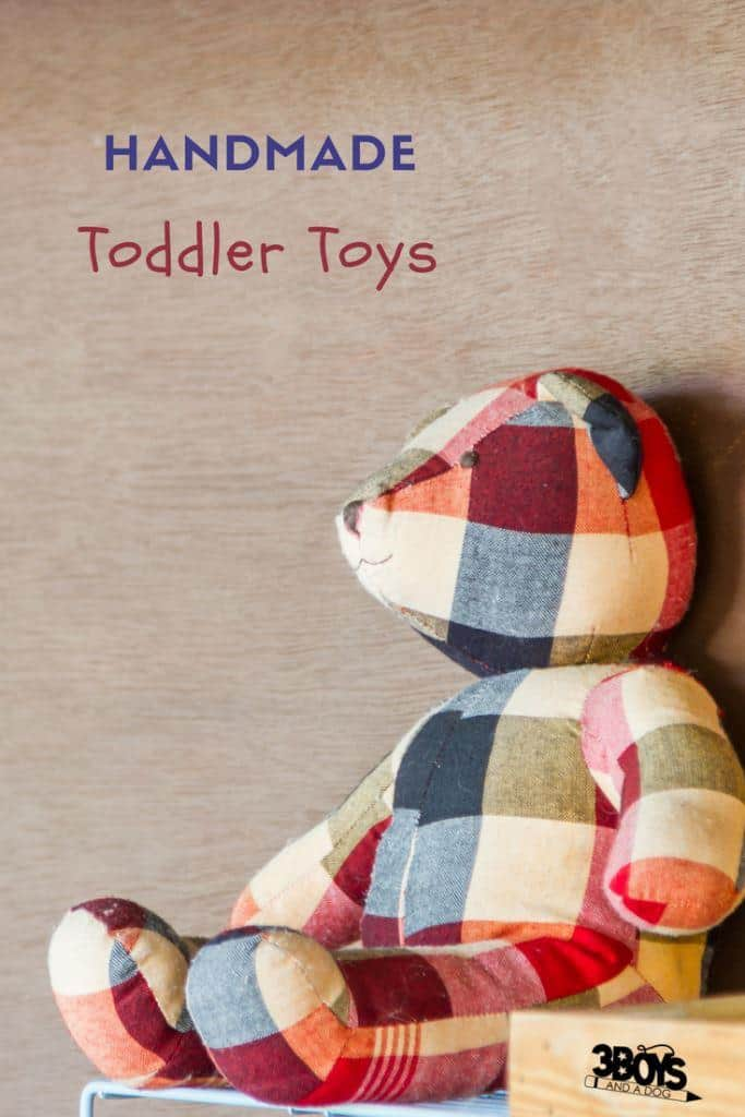 Awesome DIY or Handmade Toys for Toddlers