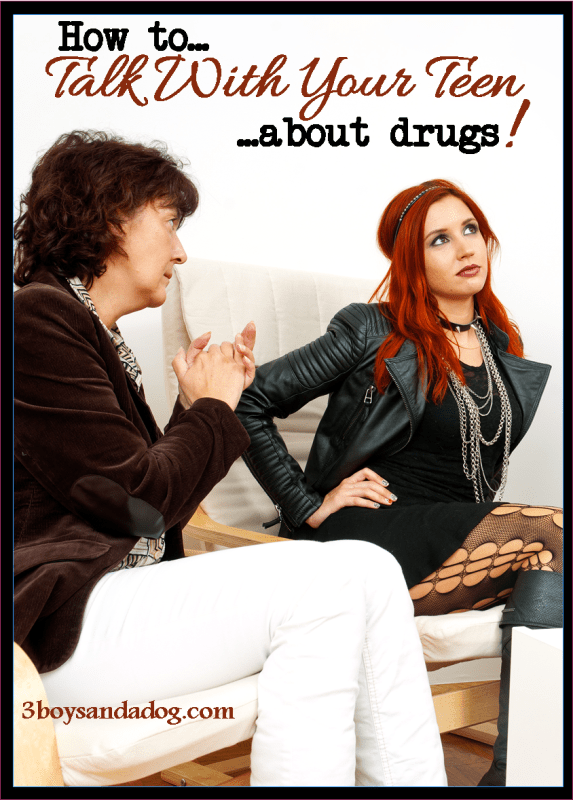 How to Talk With Your Teen About Drugs