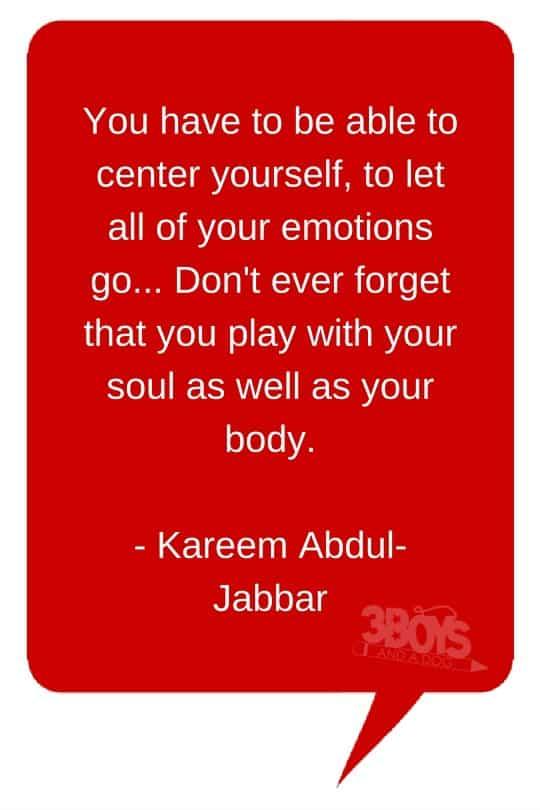 Kareem Abdul-Jabbar Quote