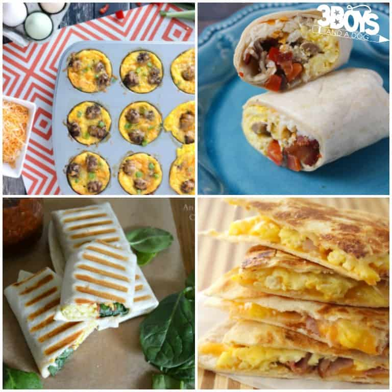 More Than 17 Freezer Friendly Breakfasts for the Family