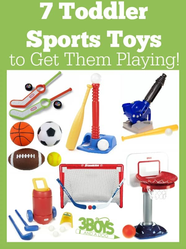 Toddler Sports Toys to Get Them Playing