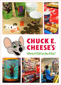 Treat Your Kid Like a Star with a Chuck E. Cheese's Birthday Party!