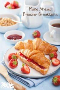 25+ Freezer Friendly Breakfasts