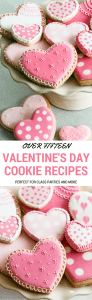 17 Valentine's Day cookie recipes