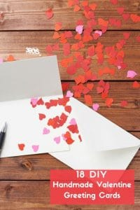 18 diy handmade valentine greeting cards