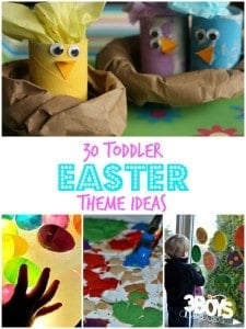 Toddler Easter Theme Activities